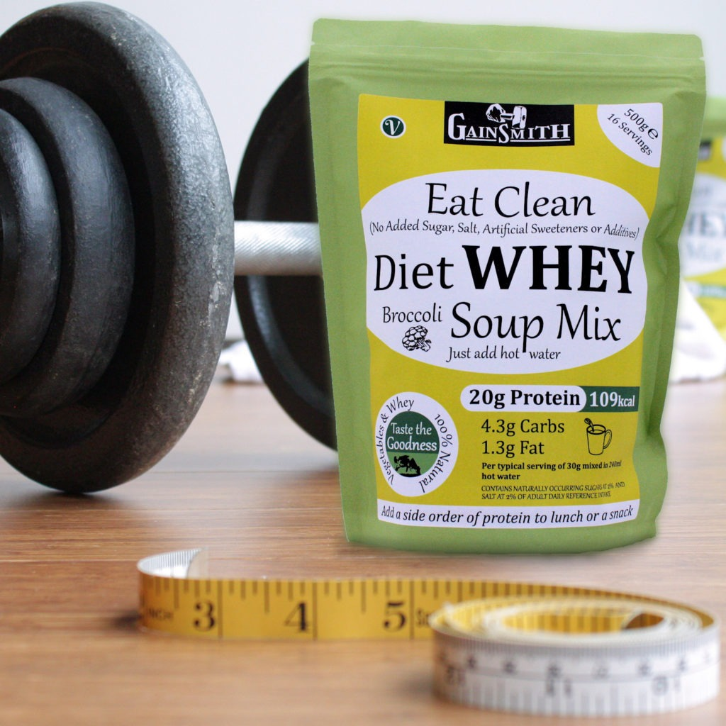Diet Whey Broccoli Soup in the Gym